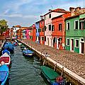 Isle of Burano Poster by Peter Tellone