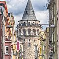 Istanbul Galata Tower Poster by Antony McAulay