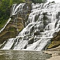 Ithaca Falls Print by Anthony Sacco