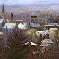 Ithaca Winter Print by Ethel Vrana