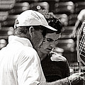 Ivan Lendl and Andy Murray  Print by Nishanth Gopinathan