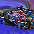 IZOD INDYCAR SERIES Marco Andretti  Print by Blake Richards