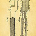 Jack Johnson Wrench Patent Art 1922 Print by Ian Monk