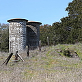 Jack London Ranch Silos 5D22146 Print by Wingsdomain Art and Photography