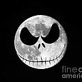 Jack Skellington Moon Poster by Al Powell Photography USA
