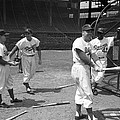 Jackie Robinson And Duke Snider  Print by Retro Images Archive