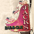 Jacks BBQ Poster by Amy Tyler