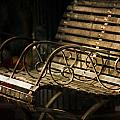 Jackson Square Bench Poster by Brenda Bryant