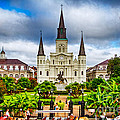 Jackson Square New Orleans Print by Jarrod Erbe