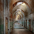 Jail - Eastern State Penitentiary - Endless torment Poster by Mike Savad