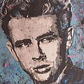 James Dean Blues Poster by Eric Dee