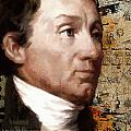 James Monroe Print by Corporate Art Task Force