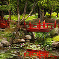 Japanese Garden - Meditation Poster by Mike Savad