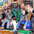Jason Terry Poster by Dave Olsen