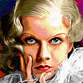 Jean Harlow Poster by Allen Glass