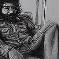 Jerry Garcia in '72   Poster by Leandria Goodman