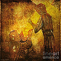Jesus Meets His Mother Via Dolorosa 4  Print by Lianne Schneider