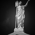 Jesus St Louis Cemetery No 3 New Orleans Print by Christine Till