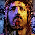 Jesus - Stained Glass Poster by Ray Downing