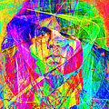 Jim Morrison 20130613 square Poster by Wingsdomain Art and Photography
