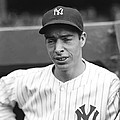 Joe Dimaggio Looking Down Print by Retro Images Archive