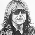 Joey Tempest Print by Lena Auxier