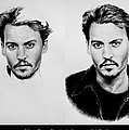 Johnny Depp 4 Print by Andrew Read