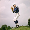 Johnny Unitas Set To Throw Poster by Retro Images Archive