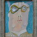John's Dad Seeing Babies Born - Framed Poster by Nancy Mauerman