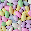 Jordan Almonds - Weddings - Candy Shop - Square Print by Andee Design