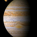 Jupiter and Io Print by Bill  Wakeley