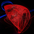 Just The Beat Of My Heart - Human Heart - Abstract - Organ Poster by Andee Photography