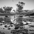 Kaneohe Bay Print by Tin Lung Chao