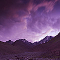 Kangri Twilight Poster by Aaron S Bedell