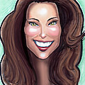 Kate Middleton Print by Kevin Middleton