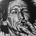 Keith Richards Print by Steve Hunter