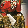 Ken Dryden Poster by Mike Oulton