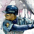 Ken Griffey Jr. Print by Michael  Pattison