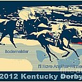 Kentucky Derby Champion Print by RJ Aguilar