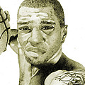 Kenyon Martin Print by Michael  Pattison