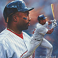 Kirby Puckett Minnesota Twins Poster by Dick Bobnick