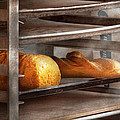 Kitchen - Food - Bread - Freshly baked bread  Poster by Mike Savad