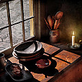 Kitchen - On a table II  Print by Mike Savad