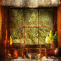 Kitchen - Table Setting Print by Mike Savad