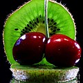 Kiwi fruit Print by Dipali S