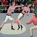 Knock Out Print by Jerzy Marek