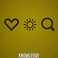 Knowledge Poster by Aged Pixel