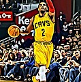 Kyrie Irving Poster by Florian Rodarte