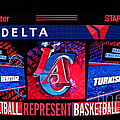LA Clippers Turkish Heritage Poster by RJ Aguilar