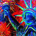 Lady Liberty Print by TeshiaArt